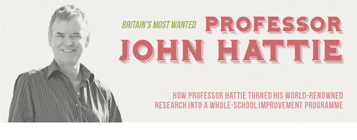 Osiris Staffroom article by Professor John Hattie and Deb Masters