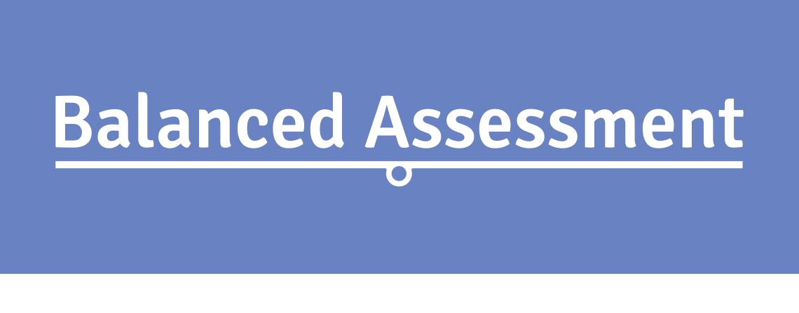Balanced Assessment article in Osiris Staffroom