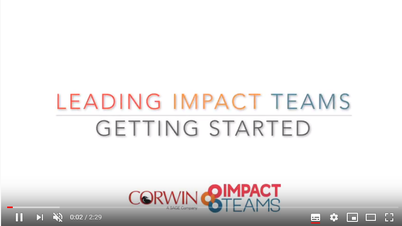 impact teams- getting started
