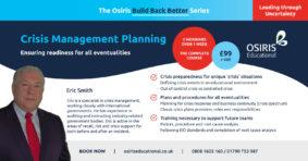 Crisis Management Planning