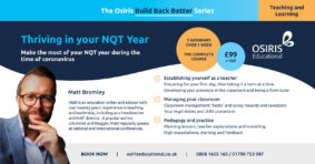 Thriving in your NQT Year
