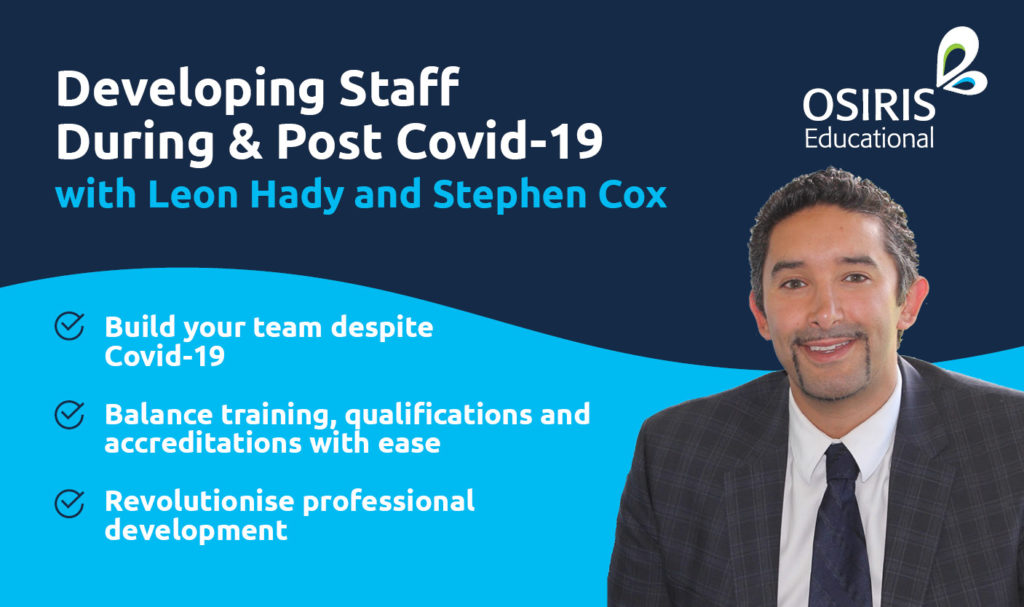 Leon Hady - Developing Staff Post Covid-19
