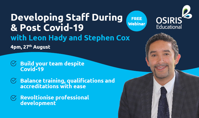 Leon Hady - Developing Staff During & Post Covid-19