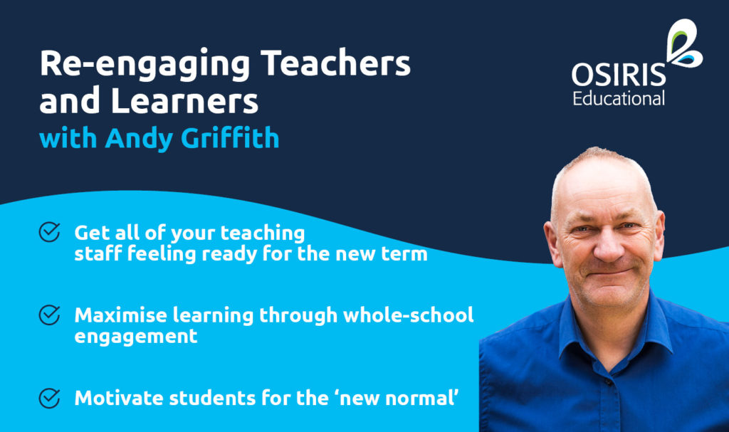 Andy Griffith - Re-engaging Teachers and Learners
