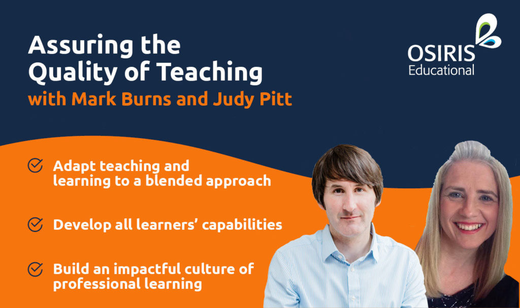 Assuring the Quality of Teaching - Mark Burns and Judy Pitt