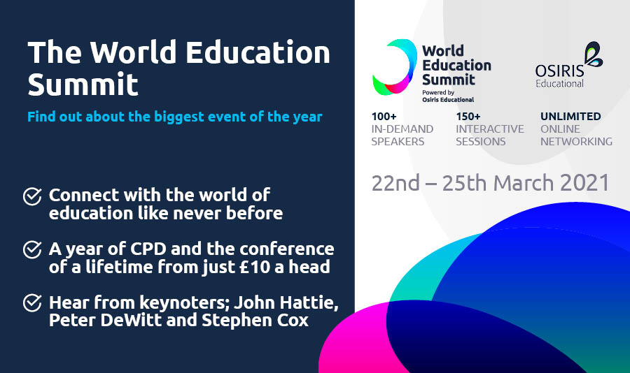 World Education Summit Launch Webinar