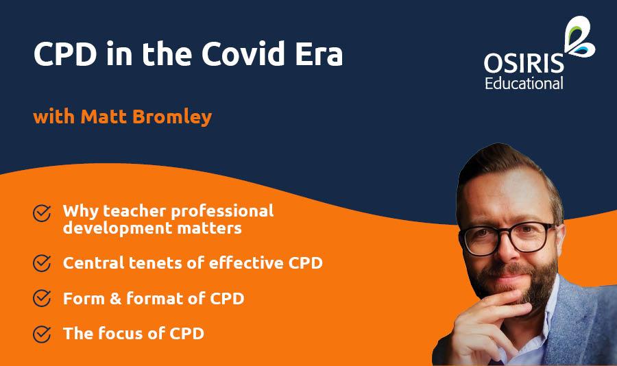 Matt Bromley Webinar - CPD in the Covid Era