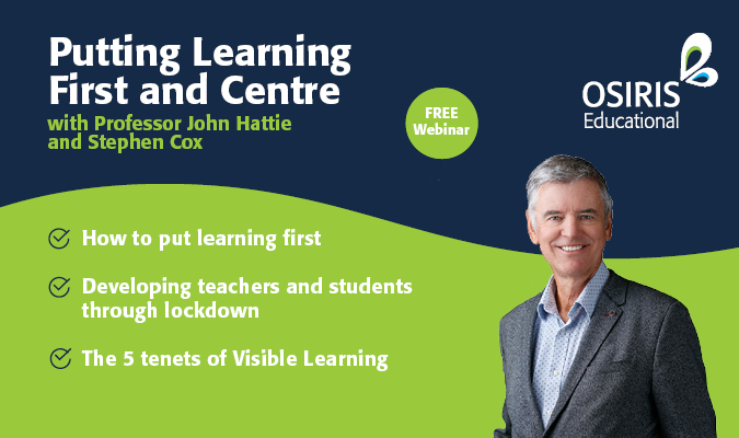 Putting Learning First and Centre