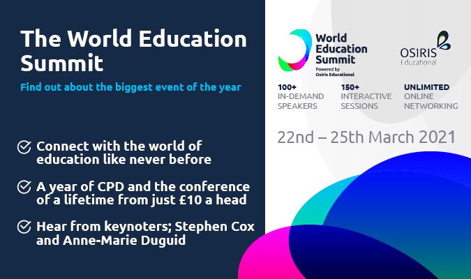 World Education Summit webinar
