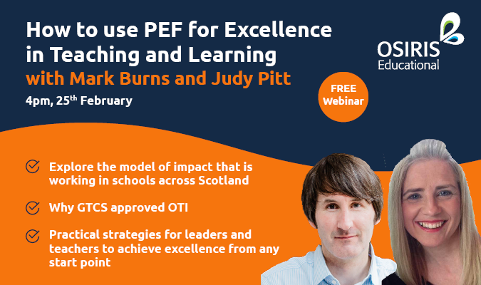 How to use PEF for Excellence in Teaching and Learning