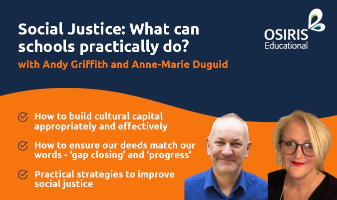 Social justice webinar