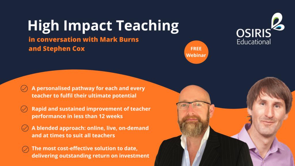 High impact teaching webinar